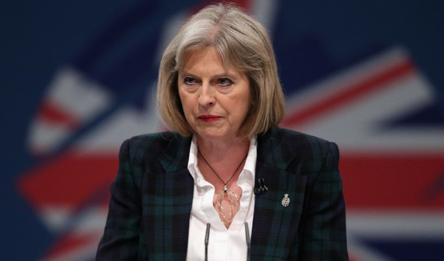 İngiltere'de Başbakan May karşıtı protesto