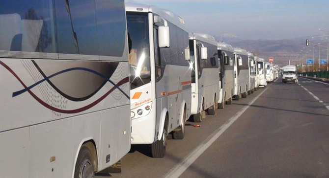 Bayramda korsan otobüslere dikkat