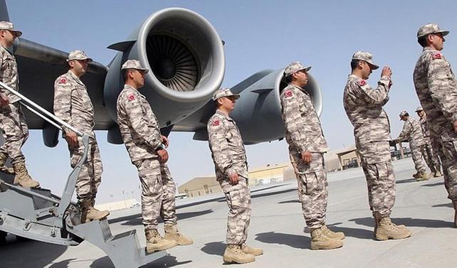 Türk askerleri Doha'ya ulaştı