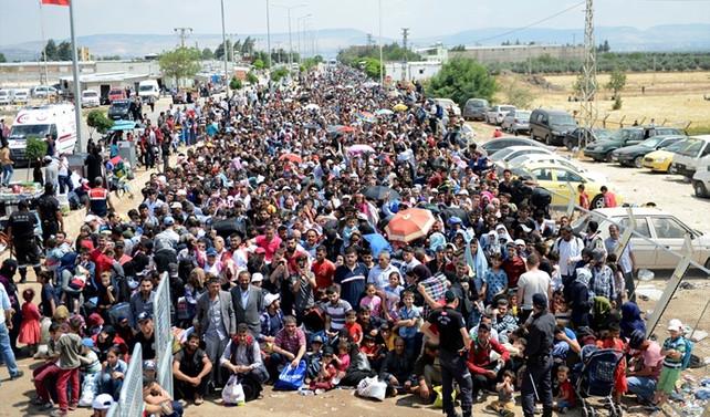 Suriye'ye geçen kişi sayısı: 120 bin