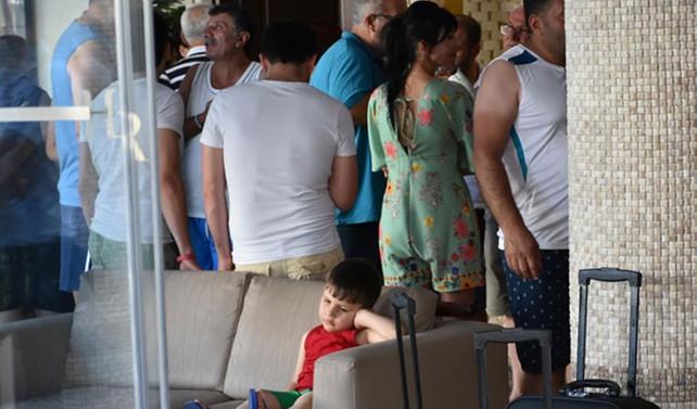 Otel iflas mesajı attı, tatilciler mağdur oldu