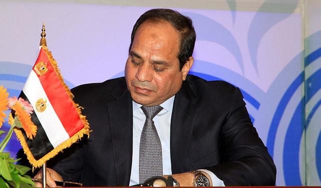 Sisi'den 'Tiran ve Sanafir adaları'na onay