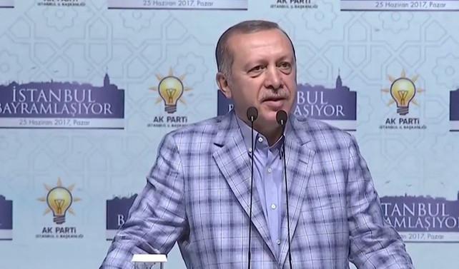 Erdoğan: Faturayı silahların asıl sahibine çıkaracağız
