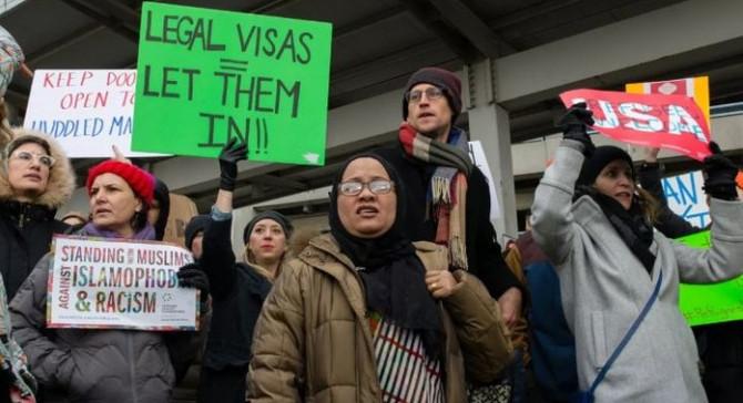 ABD'nin seyahat yasağı yürürlüğe giriyor