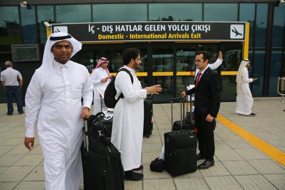 Bir Arap ailesi Türkiye'de 3 bin dolar harcıyor