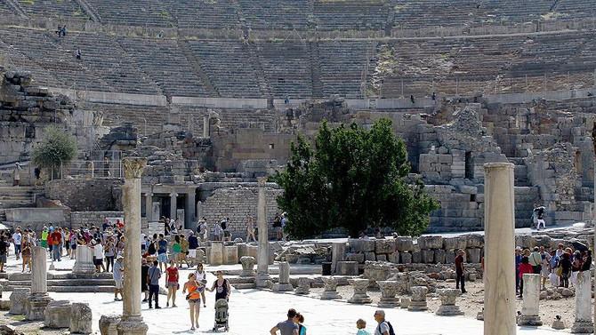 'Efes Antik Kenti' için Bakanlık açıklaması