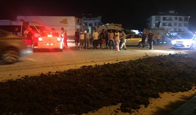 CHP'nin kamp yaptığı alana gübre döken kişiler serbest