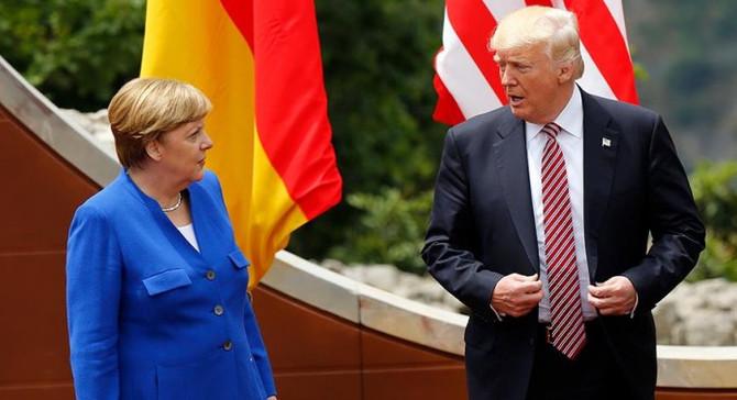 Merkel'den Trump'a eleştiri