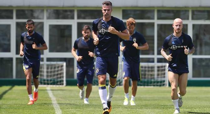 Fenerbahçe 'kuvvet ve dayanıklılık' çalıştı