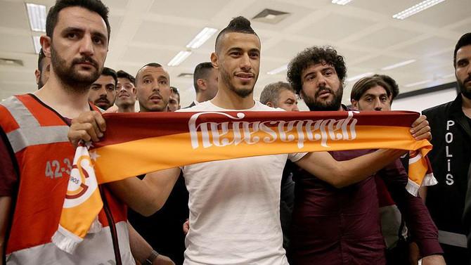 Belhanda İstanbul'a geldi