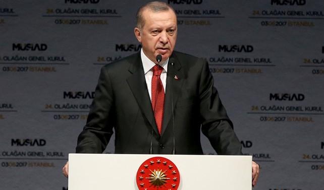 Erdoğan: Borsadaki yükseliş piyasa güvenine işaret