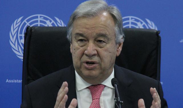 Guterres: Kıbrıs'ta çözüm bulmak çok zor