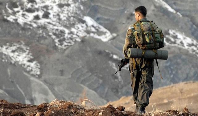 Derecik'te PKK hedefleri vuruldu