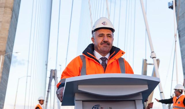 'Yılda 68 kilometre tünel bitiren bir ülke durumuna geldik'