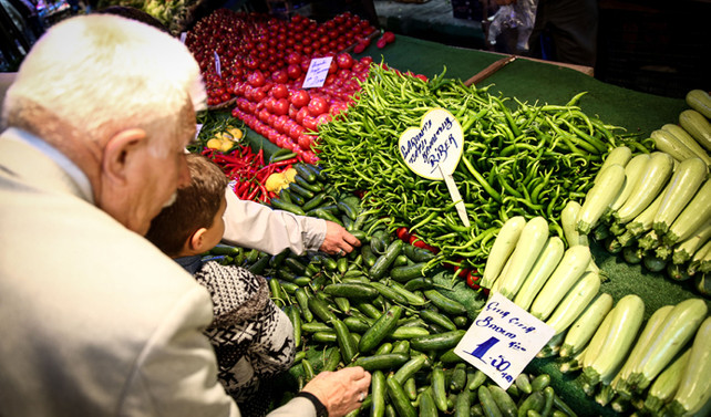 TCMB: Gıda fiyatlarında yükseliş sürdü