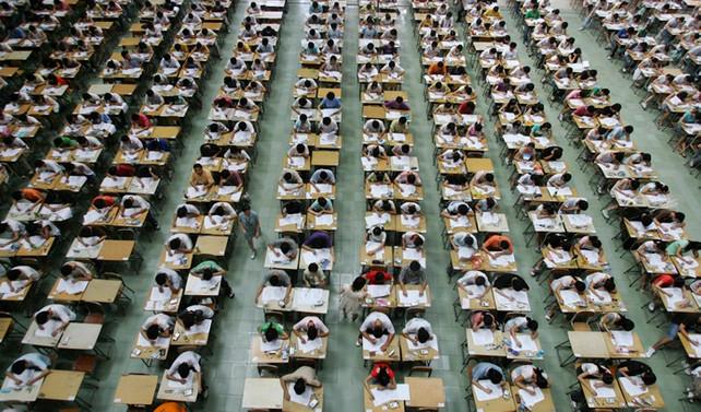 Çin'de 'büyük sınav' başladı