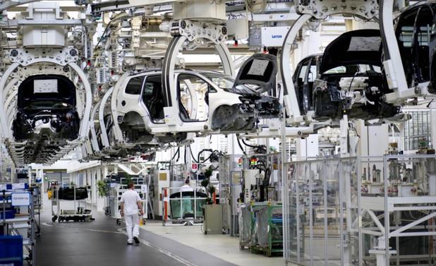 Almanya'da sanayi üretimi arttı
