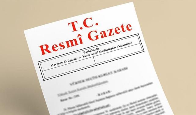 Katar anlaşması Resmi Gazete'de