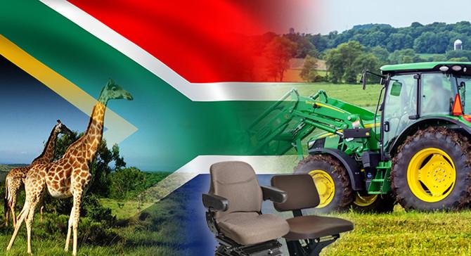 G. Afrika pazarı için traktör koltuğu talep ediliyor