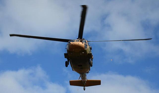 TSK'dan helikoptere roketli saldırı açıklaması