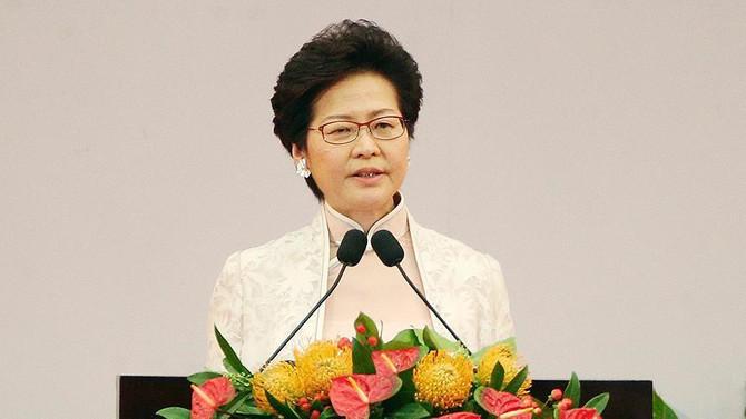 Hong Kong'un yeni lideri göreve başladı