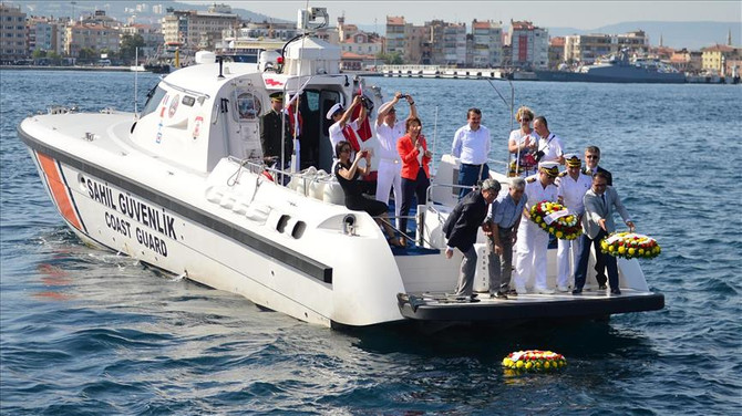 Denizcilik ve Kabotaj Bayramı için tören düzenlendi