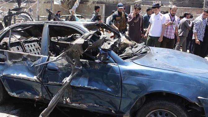 Afganistan'da bombalı saldırı: 9 ölü