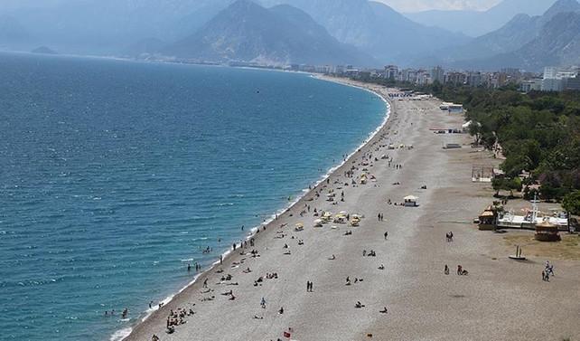 Antalya'da 88 yılın en sıcak günü