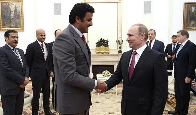 Putin'den Katar için diplomasi trafiği