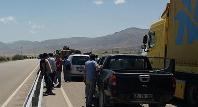 Sınır kapısı yolunda bomba bulundu