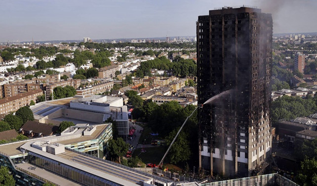 Londra yangınında kaç kişinin öldüğü belirlenemedi