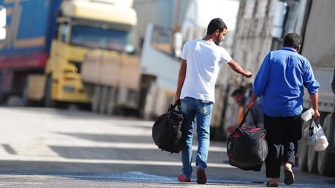 Suriyeliler Cerablus'adönüyor