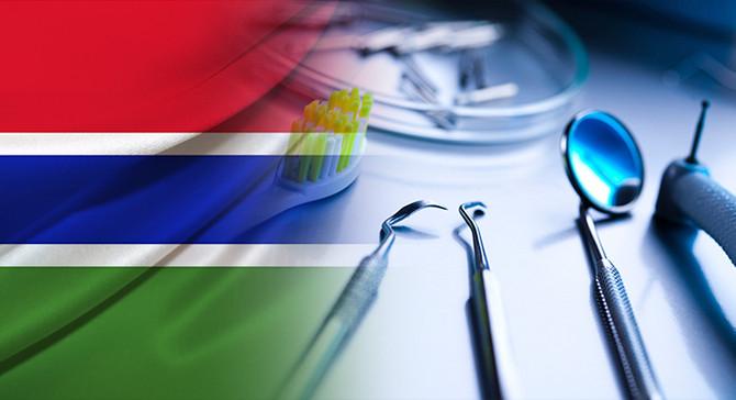Gambiya pazarı için dişçilik malzemeleri talep ediyor