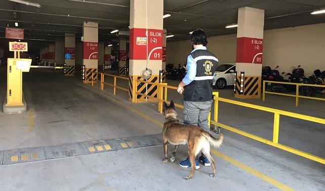 Anadolu adliyesinde bombalı araç alarmı