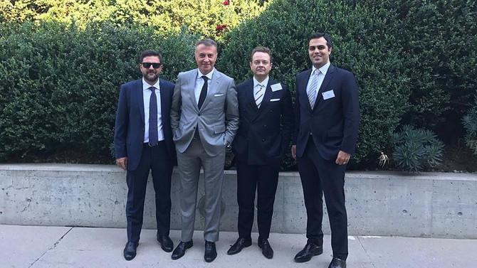 Beşiktaş heyeti savunma için UEFA'da