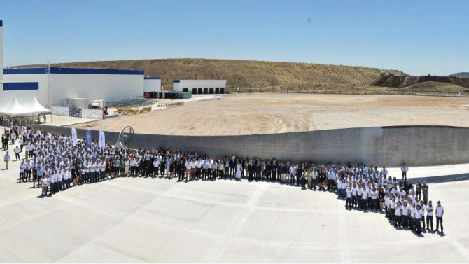 Bergama'daki tesisle üretim kapasitesi artırılacak