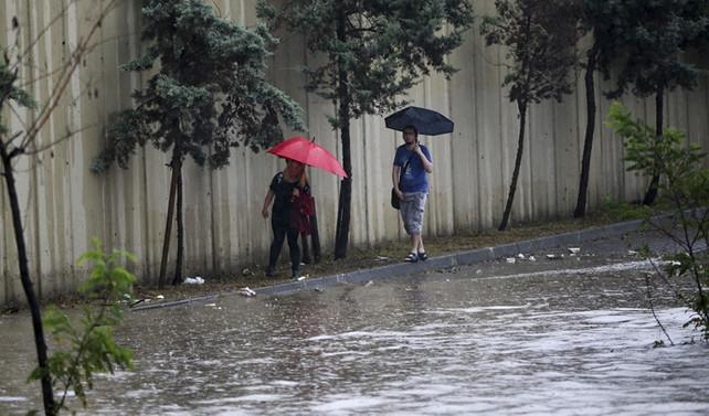 İstanbul'da son 32 yılın en yoğun yağışı