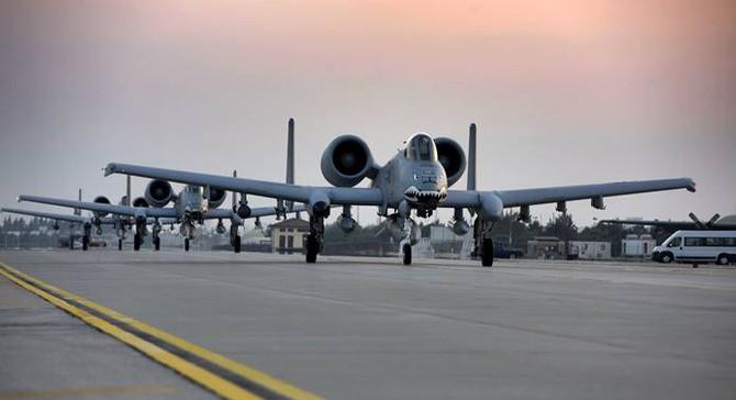 İncirlik Üssü'ne A-10 Thunderbolt II takviyesi