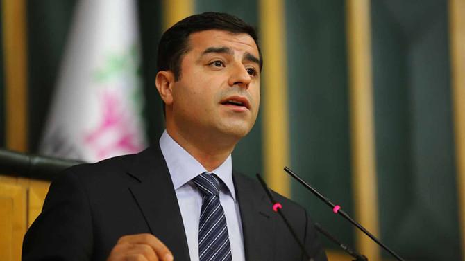 Demirtaş'tan Meclis grup toplantısı için dilekçe