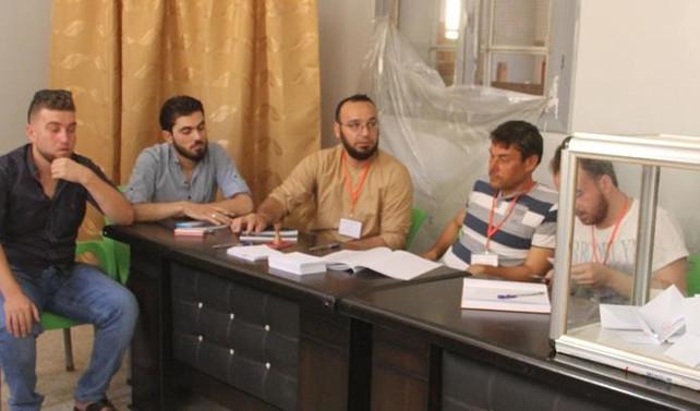 İdlib'de yerel seçim yapıldı