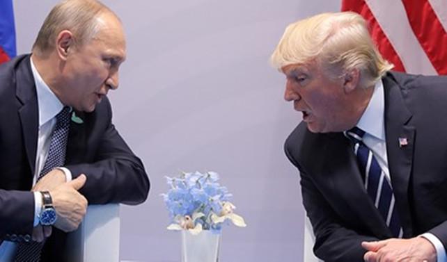 Trump, Almanya'da Putin'le iki kez görüşmüş