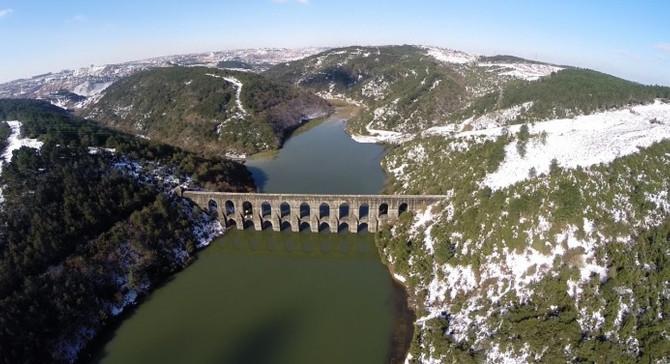 Şiddetli yağış barajları doldurdu