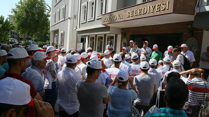 İZBAŞ'ta grev kararı