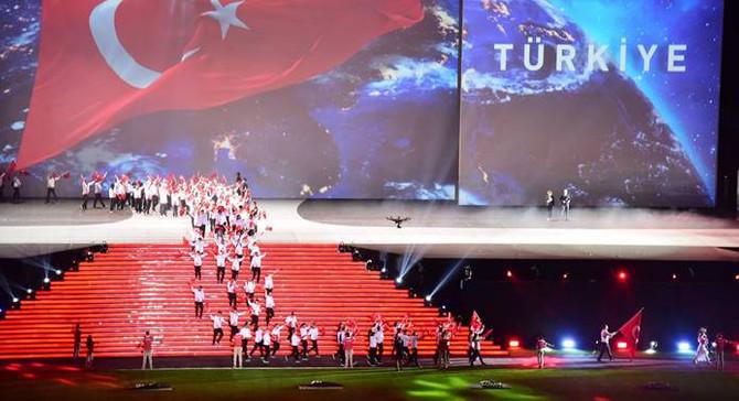 Samsun'da olimpiyat coşkusu