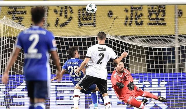 Beşiktaş Çin'deki hazırlık maçında yenildi