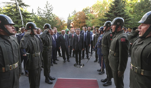 Milli Savunma Bakanlığında devir teslim töreni