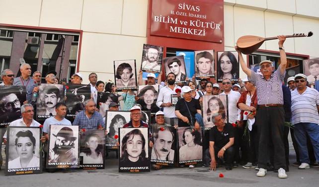 Sivas'ta anma programı düzenlendi