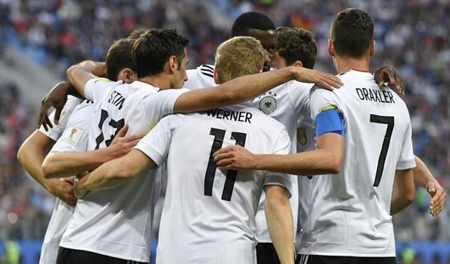 Konfederasyonlar Kupası Almanya'nın