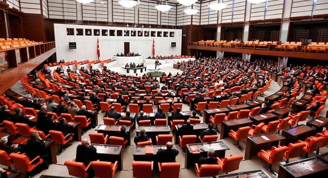 Meclis'teönergelerin özetleri okunmayacak