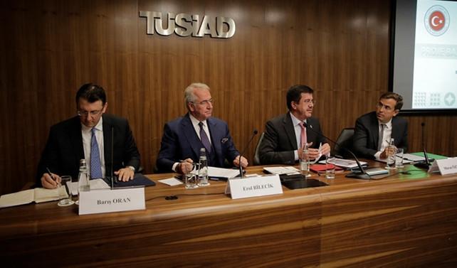 Bakan Zeybekci, TÜSİAD'ı ziyaret etti
